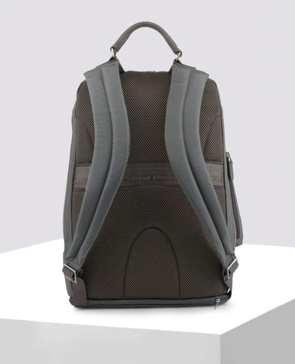 Grey Side Pocket Backpack