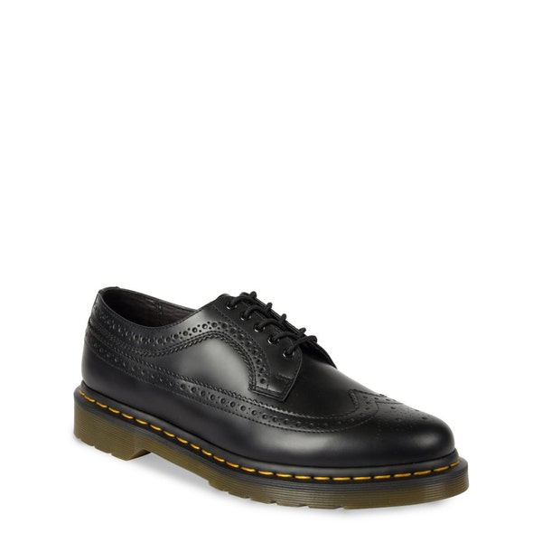 Leather Stitching Sole Shoes