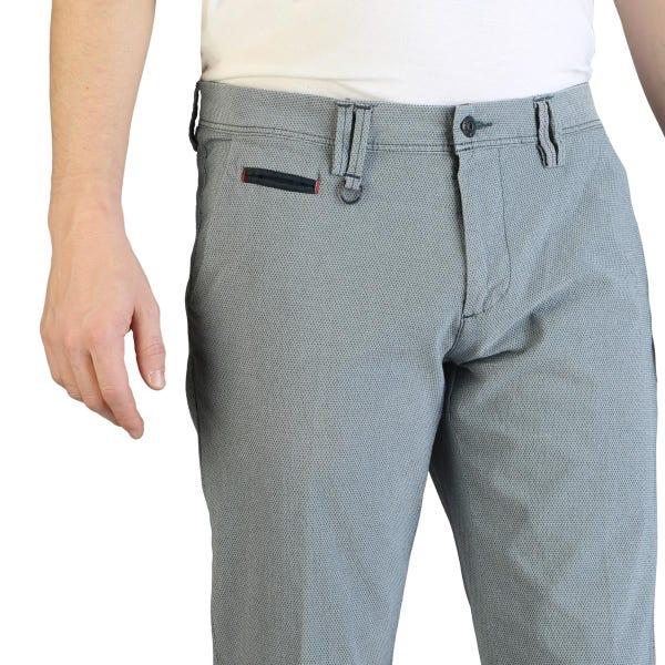 Classic Casual Button Zipper Trouser