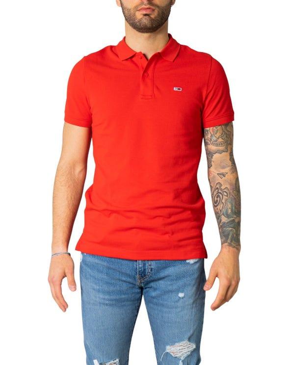 Collar Short Sleeve Button Polo Shirt