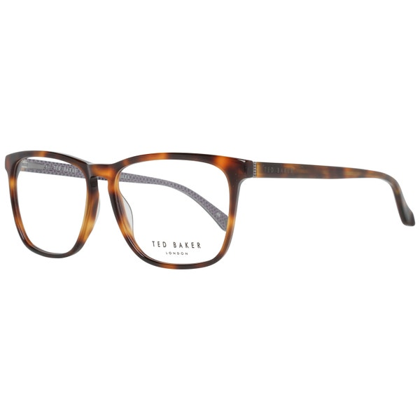 Leopard Print Square Lens Eyeglass