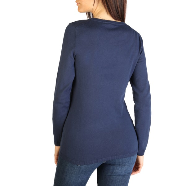 Round Neck Long Sleeve Knit Pullover