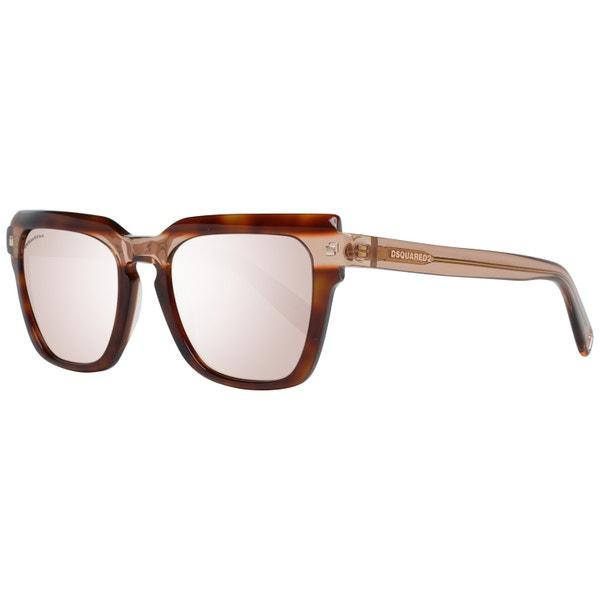 Two Tone Transparent Full Rim Sunglasses