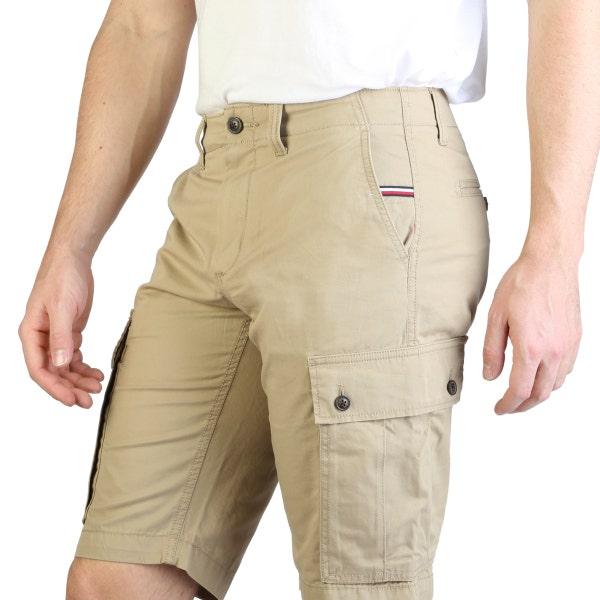 Button Zipper Pocket Cargo Short