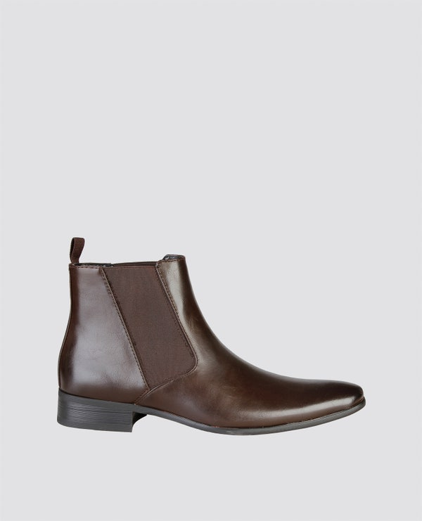 Pascal Elastic Ankle Boots