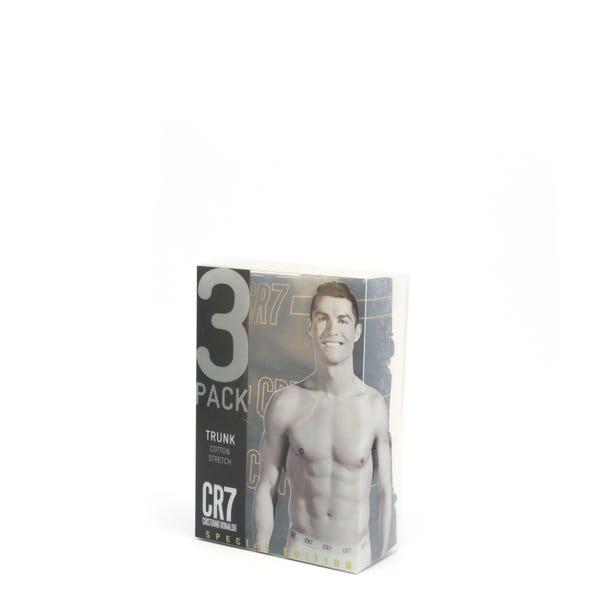 3 Pack Elastic Waist Boxer Short