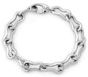 Stainless Steel Chain Clip Clasp Bracelet