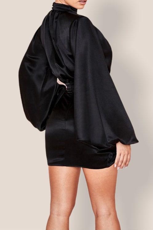 Black Heaven  Bodycon Dress