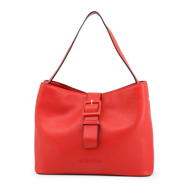Red Angelo Buckle Clasp Shoulder Bag