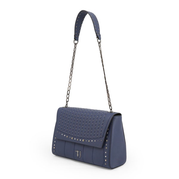Blue Small Curcuma Studs Cross Body Bag