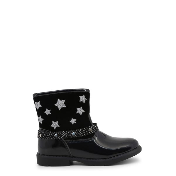 Mid Top Star Kids Ankle Boots