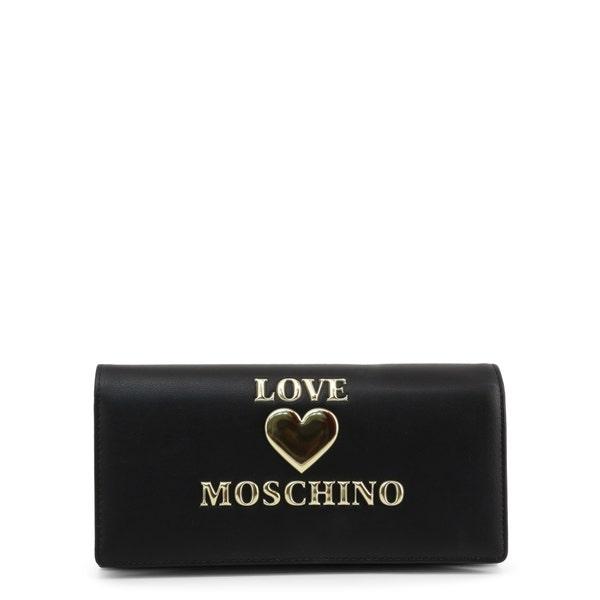 Black Love Clutch Bag