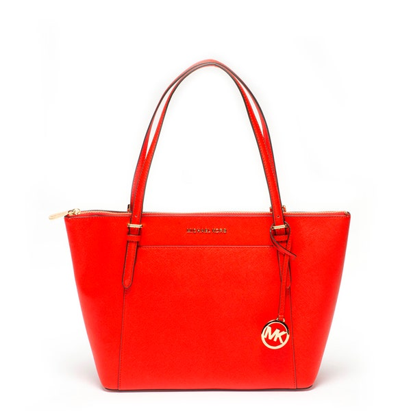 Red Classic Leather Ciara Shoulder Bag