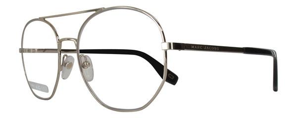 Round Silver Full Rim Metal Eyeglass