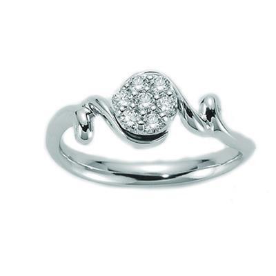 Innovative Crystal Ring