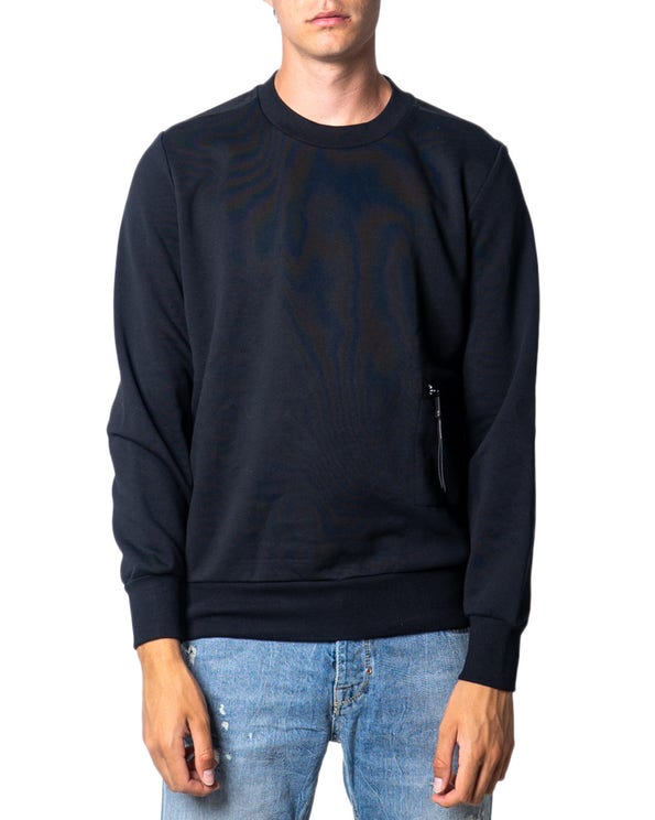 Long Sleeve Pocket Side Sweatshirt