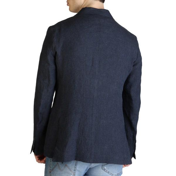 Blue Collar Long Sleeve Button Blazer