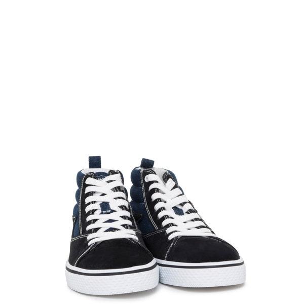 Darkdenim High Top Lace Sneakers