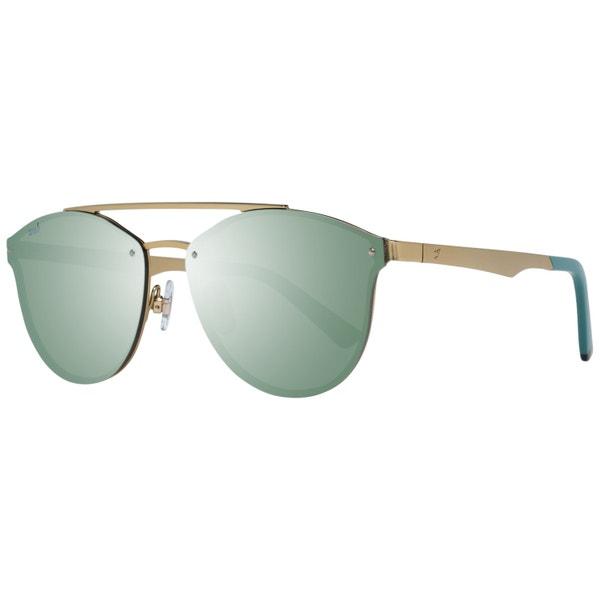 Gold Metal Frame Round Eye Sunglasses