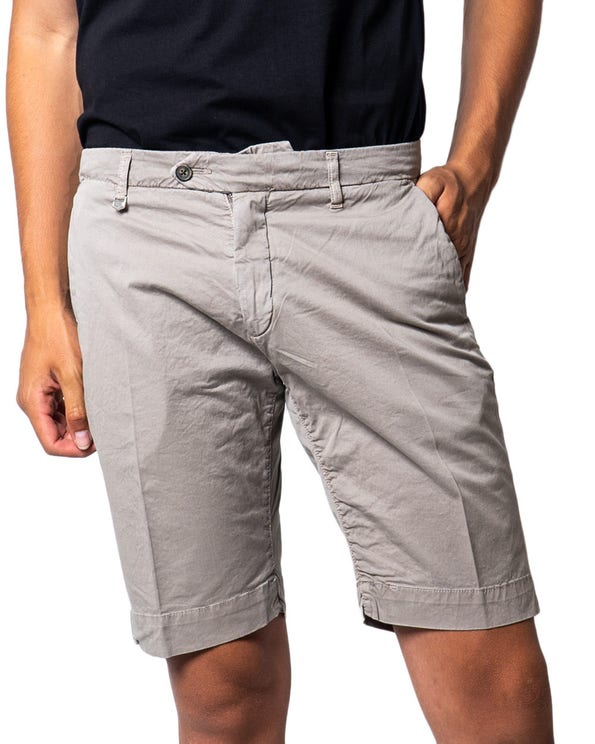 Button  Zipper Chino  Short