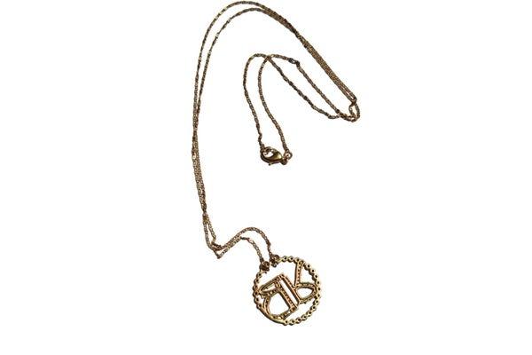 Crystal Maxi Long Chain Pendant