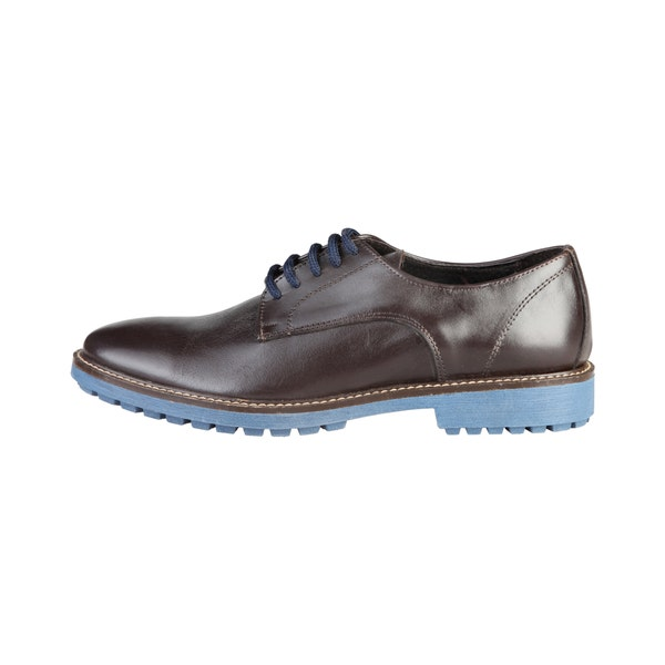 Bertrand Moro Leather Lace Up Shoes
