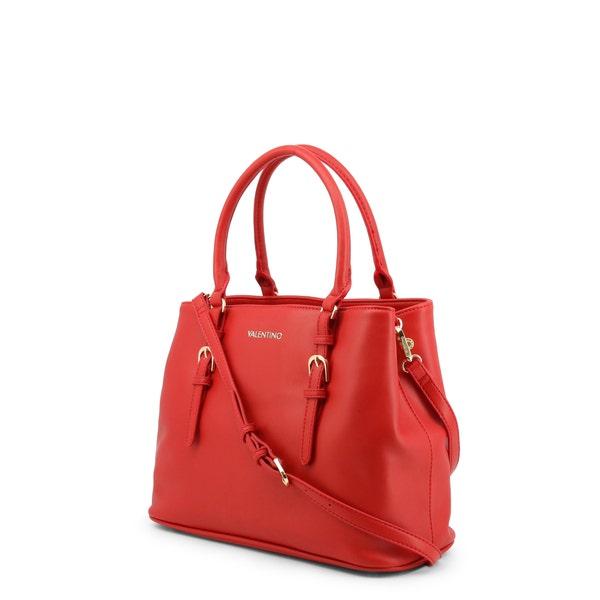 Red Medusa Zipper Shoulder Bag