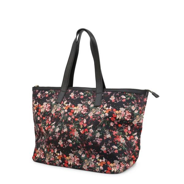 Floral Marien Zip Shopping Bag