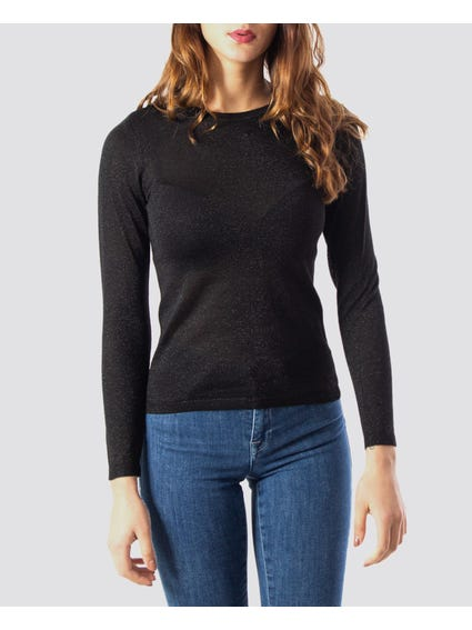 Knit Pullover Top
