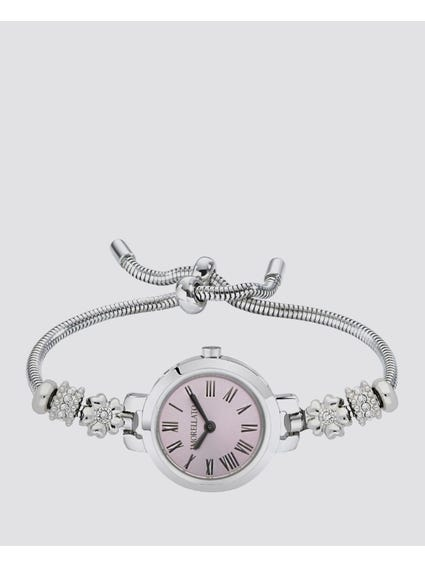 White Dial Analog Bracelet Watch