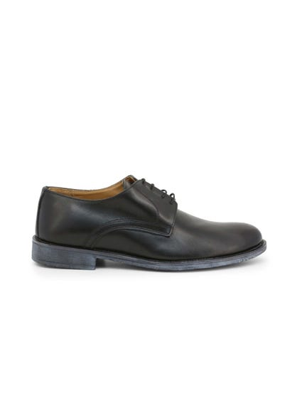 Leather Crust Lace Up Shoes