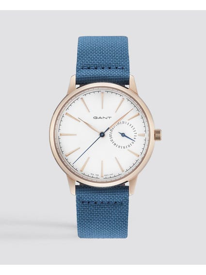 Blue Stanford Fabric Watch