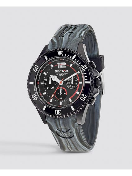 Silicon Strap Multifunction Watch