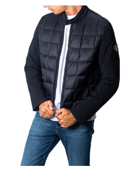 Long Sleeve Quilted Zip Jacket