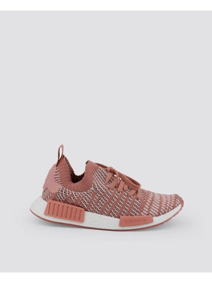 Dark Pink NMD R1 STLT Primeknit Shoes