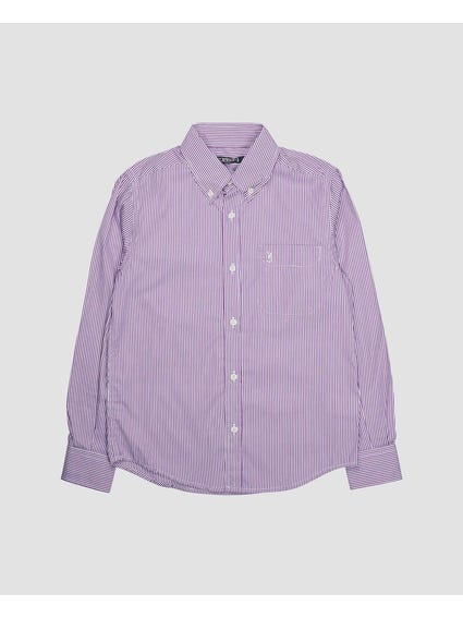 Pinstripe Pattern Kids Shirt