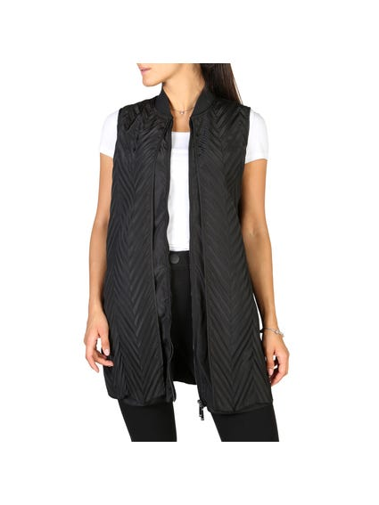 Sleeveless Full Zipper Vest