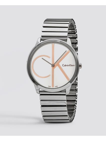 Minimal Silver Dial Watch