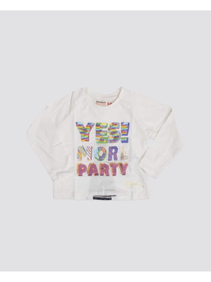 More Party Long Sleeves Kids Tops