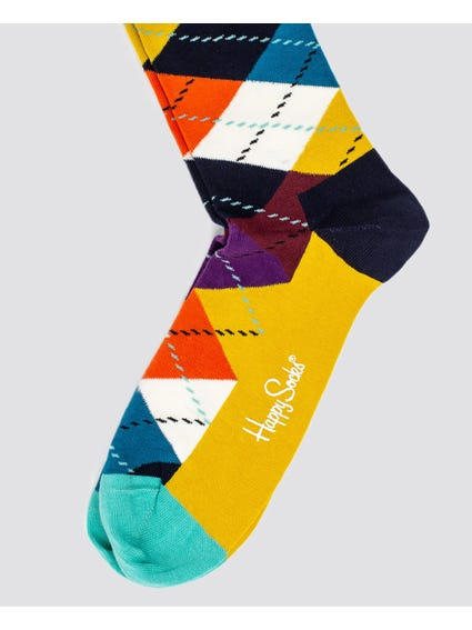Graphic Print Mid Calf Socks