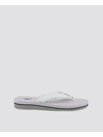 White Guy One Stripe Flip Flops