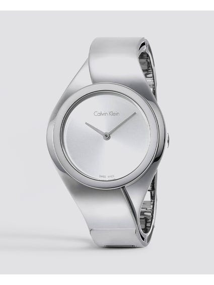 Senses Silver Dial Stainless Steel Watch