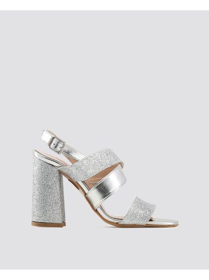 Silver Vera Sandals
