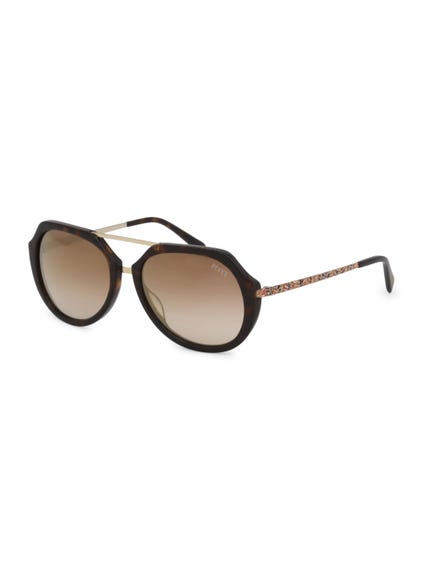 Brown Rim and Stylish Temple Sunglasses