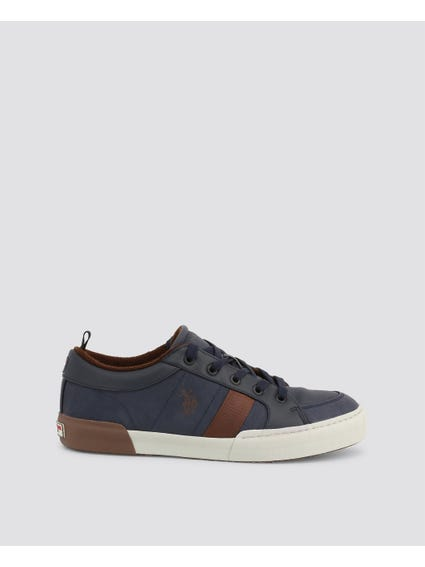 Blue Arman Two Tone Sneakers