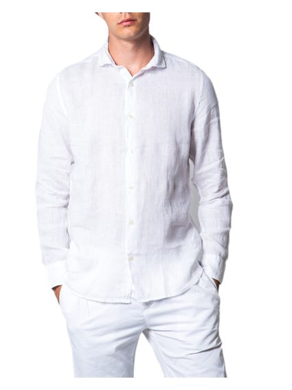 White Long Sleeve Button Shirt