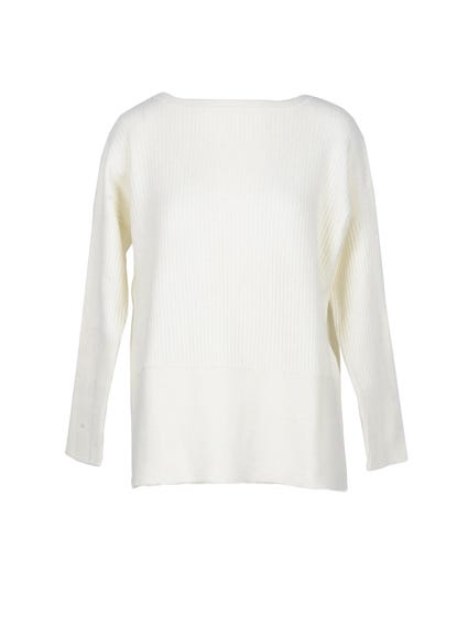 White Snobby Sheep Knitwear