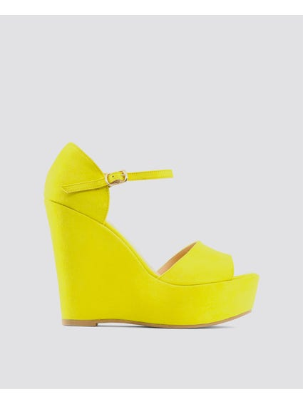 Yellow Beniamina Sandals