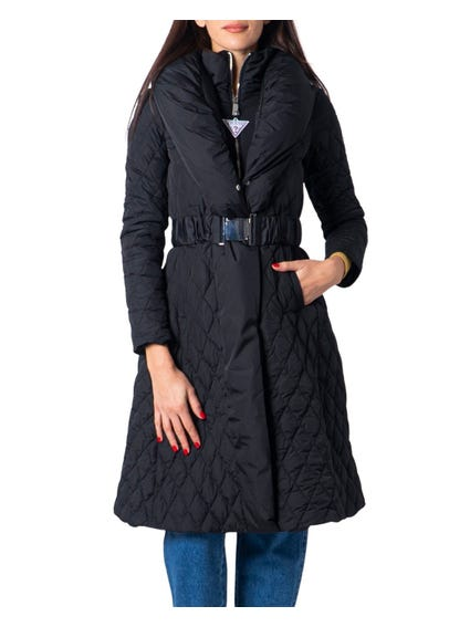 Black Wallis Long Jacket