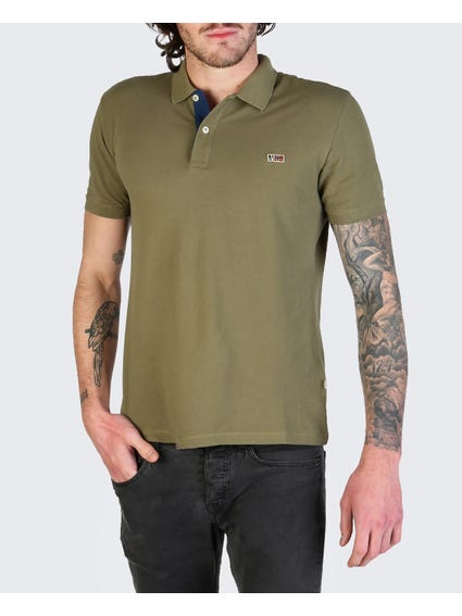Green Taly Short Sleeves Polo